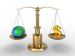 Environment vs Money