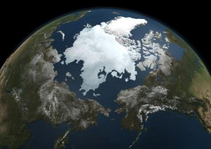 Record Low Sea Ice Cover